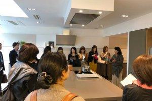【青山インテリアショップツアー】の見学会がありました。